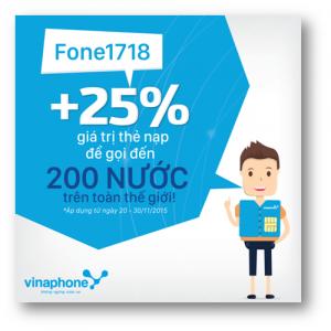 Nạp nhiều thưởng lớn - Kết nối cùng Fone1718